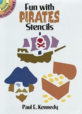 Fun with Pirates Stencils book