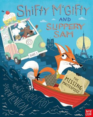 Shifty McGifty and Slippery Sam: The Missing Masterpiece by Tracey Corderoy