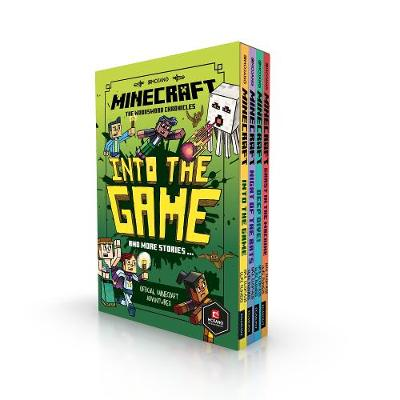 Minecraft: Into the Game - The Woodsword Chronicles Collection by Mojang AB