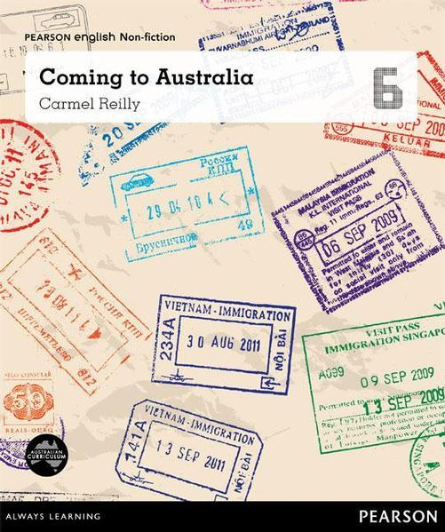 Pearson English Year 6: You, Me, Us - Coming to Australia (Reading Level 30++/F&P Level W-Y) book
