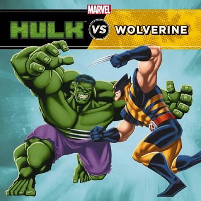 Marvel Hulk vs Wolverine by Clarissa,S Wong