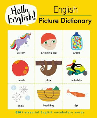 English Picture Dictionary book