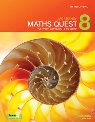 Jacaranda Maths Quest 8 Australian Curriculum 3E LearnON & Print by Catherine Smith