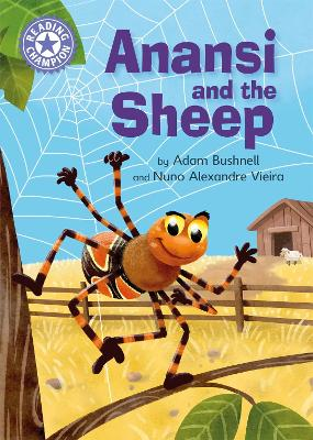 Reading Champion: Anansi and the Sheep: Independent Reading Purple 8 by Adam Bushnell