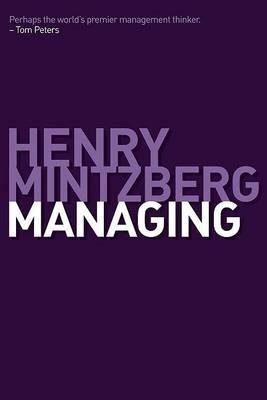 Managing by Henry Mintzberg