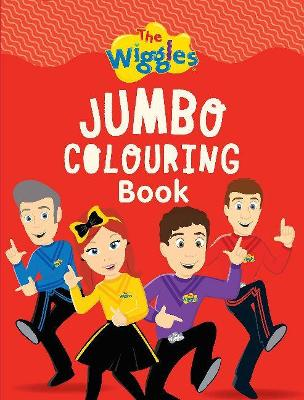 The Wiggles Jumbo Colouring Book by The Wiggles