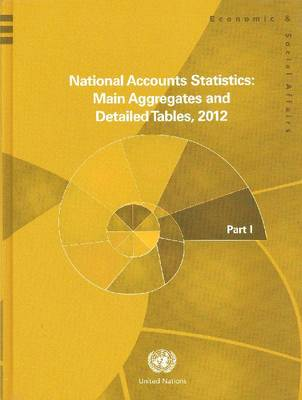 National accounts statistics 2012 by United Nations: Department of Economic and Social Affairs: Statistics Division