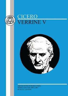 The Verrine Orations by Marcus Tullius Cicero