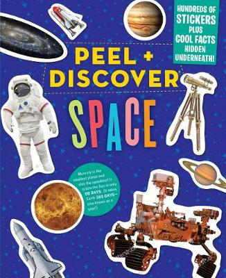 Peel + Discover: Space by Workman Publishing
