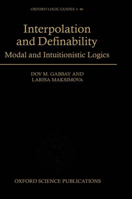 Interpolation and Definability book