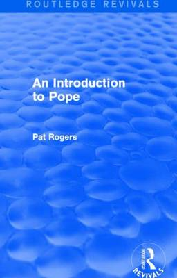 An Introduction to Pope by Pat Rogers