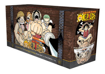 One Piece Box Set: East Blue and Baroque Works (Volumes 1-23 with premium) by Eiichiro Oda