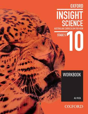Oxford Insight Science 10 Australian Curriculum for NSW Workbook book