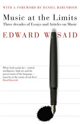 Music at the Limits by Edward Said