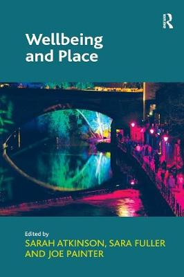 Wellbeing and Place book