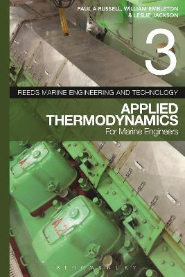 Reeds Vol 3: Applied Thermodynamics for Marine Engineers by Alan Murphy
