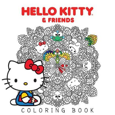 Hello Kitty & Friends Coloring Book by Various