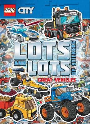 LEGO City Lots and Lots of Stickers book