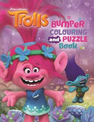 Trolls Bumper Colouring and Puzzle Book by DreamWorks: Trolls