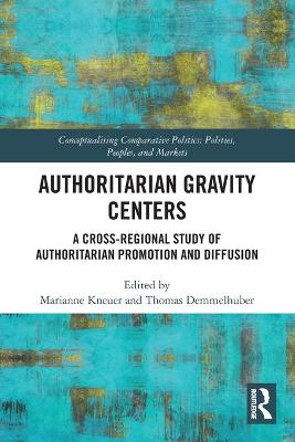 Authoritarian Gravity Centers: A Cross-Regional Study of Authoritarian Promotion and Diffusion by Marianne Kneuer