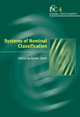 Systems of Nominal Classification book