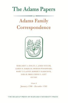 Adams Family Correspondence by Adams Family