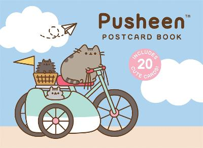 Pusheen Postcard Book: Includes 20 Cute Cards! by Claire Belton