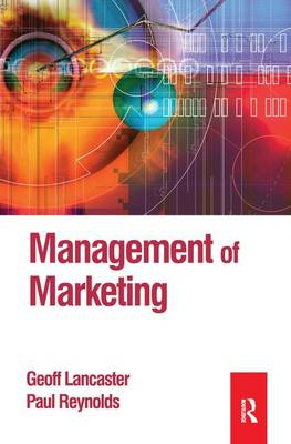 Management of Marketing by Paul Reynolds