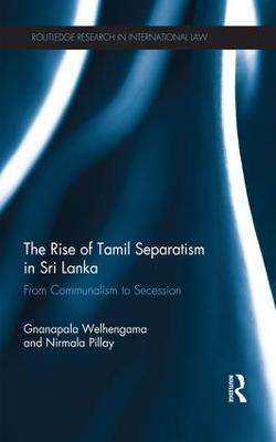 Rise of Tamil Separatism in Sri Lanka book