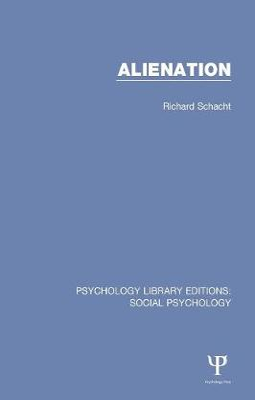 Alienation by Richard Schacht
