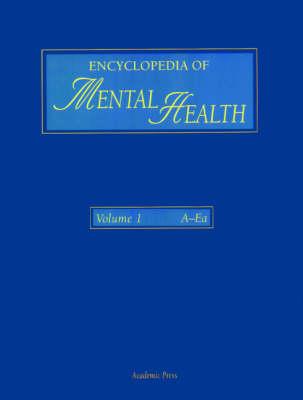 Encyclopedia of Mental Health, Three-Volume Set by Nancy E. Adler
