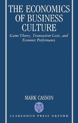 Economics of Business Culture book