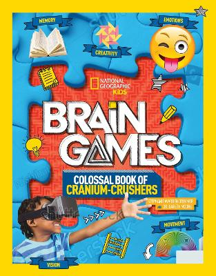 Brain Games 3: Cranium-Crushers by National Geographic Kids