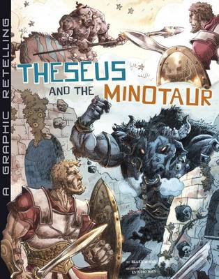 Theseus and the Minotaur by Blake Hoena