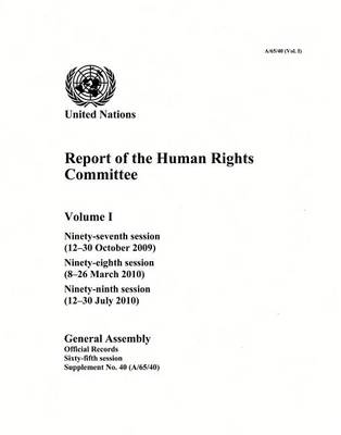 Report of the Human Rights Committee by United Nations: General Assembly