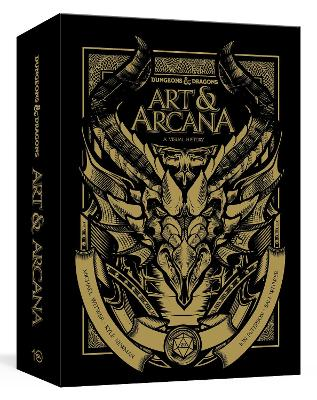 Dungeons and Dragons Art and Arcana: A Visual History: Special Edition, Boxed Book and Ephemera Set by Michael Witwer