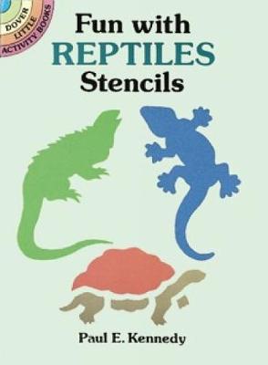 Fun with Reptiles Stencils book