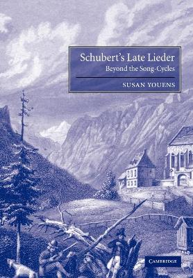Schubert's Late Lieder book