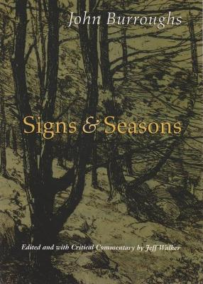 Signs and Seasons by John Burroughs