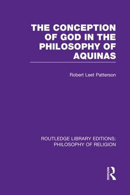 Conception of God in the Philosophy of Aquinas book