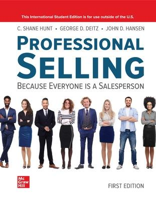 ISE Professional Selling book