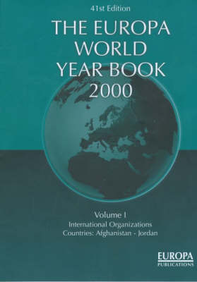 Europa World Year Book by Madeleine Arnot