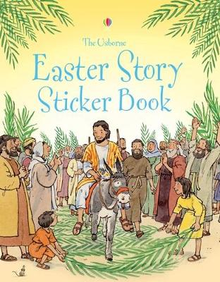 Easter Story Sticker Book book