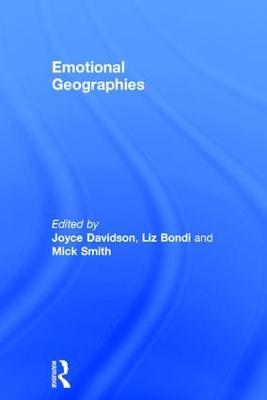 Emotional Geographies by Liz Bondi