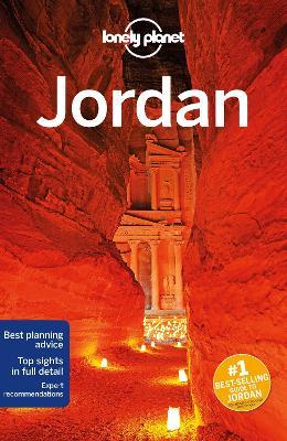 Lonely Planet Jordan book