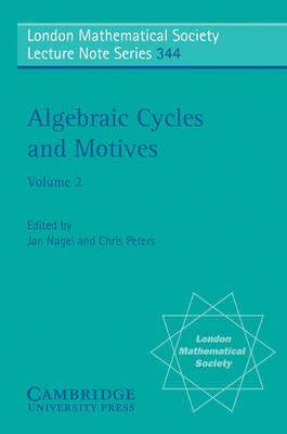 Algebraic Cycles and Motives: Volume 2 book