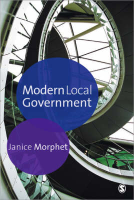 Modern Local Government by Janice Morphet