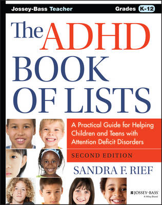 The ADHD Book of Lists by Sandra F. Rief