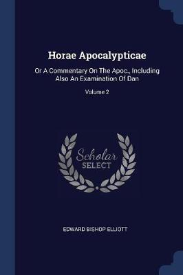Horae Apocalypticae book