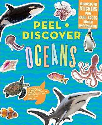 Peel + Discover: Oceans book